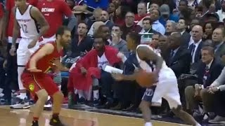 Brandon Jennings FREEZES Entire Hawks Team with Behind-the-Back No Look Pass