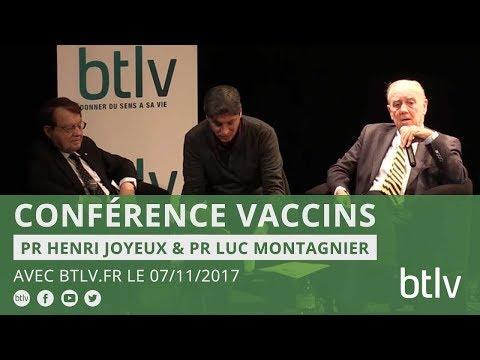 Conférence Pr Joyeux et Pr Montagnier sur les vaccins.