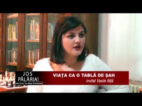 VIAȚA CA O TABLĂ DE ȘAH, cu Vasile Niță, 8 decembrie 2017