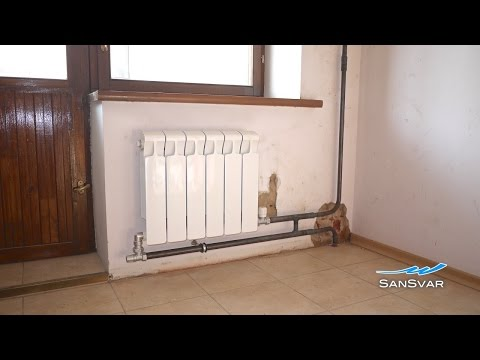 Подключение радиаторов по схеме