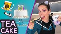 Baking a Cake with TEA (no nail polish)
