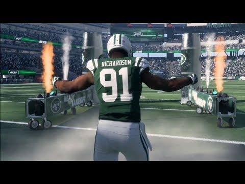 Madden NFL 18 - New York Jets vs New England Patriots - Gameplay (HD) [1080p60FPS]