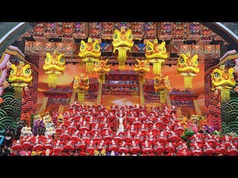 Spring Festival Gala 2019: Dragon and lion dance