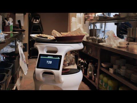 "Miami Restaurant Deploys Food-Running Robot ""Astro"" to Help Servers"
