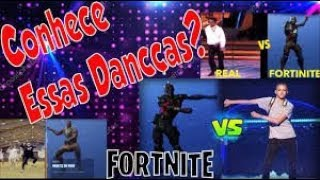 DANÇAS DO FORTNITE - ALL FORTNITE DANCES IN REAL LIFE! (Best Mates, Take The L) *NEW 2018*