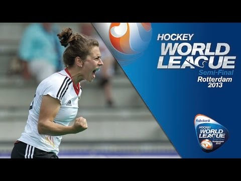 Germany vs Chile Women's Hockey World League Rotterdam Quarter-Finals [18/6/13]