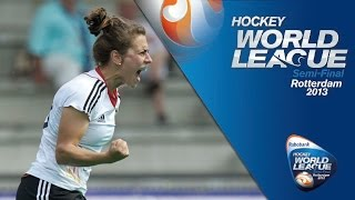 Germany vs Chile Women's Hockey World League Rotterdam Quarter-Finals [18/6/13]