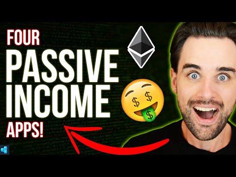 4 PASSIVE INCOME blockchain apps YOU can build!