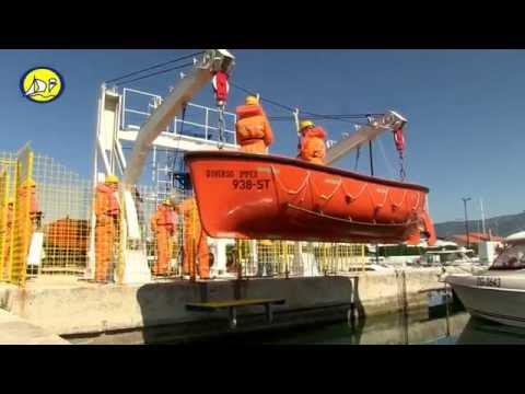 STCW Basic Safety Training video - D2 Temeljna Sigurnost