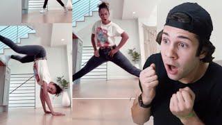 LIZA DANCING SKILLS !! VLOGSQUAD INSTAGRAM STORIES !!