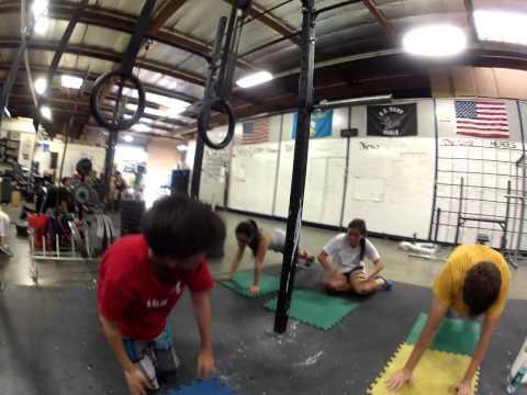 Huntington Beach Crossfit Plank Getups