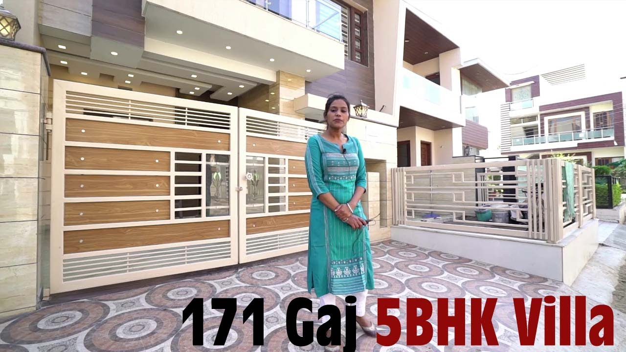 171 SQ YARD 28 x 55 LATEST DESIGN LUXURIOUS 5 BHK HOUSE WITH INTERIOR DESIGN , NEW SUNNY ENCLAVE