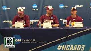 2018 D-III World Series Game 3: Concordia-Chicago postgame