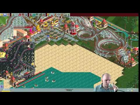 Rollercoaster Tycoon scenario #22: Haunted Harbor