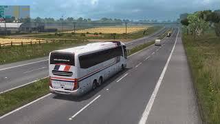 Euro Truck Simulator Mod Bus viagens  de FOZ DO IQUAÇU  PRA SÂO PAULO