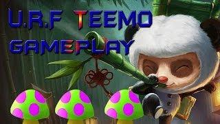 League of Legends - U.R.F Mode Teemo Gameplay Highlights!