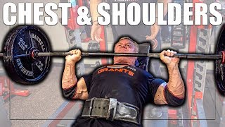 *MUST TRY* Heavy Chest & Shoulder Workout