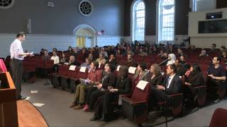 "Master Class: David Malan, ""The Geek Shall Inherit the Earth"" (HGSE)"