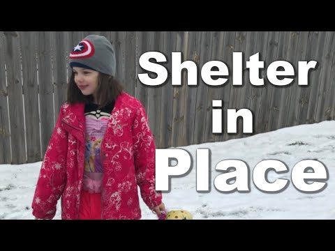 Autism  Shelter in Place Order Arrives Family DITL
