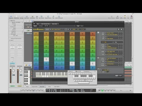 Smart Instruments In Logic Pro (Using tonespace)