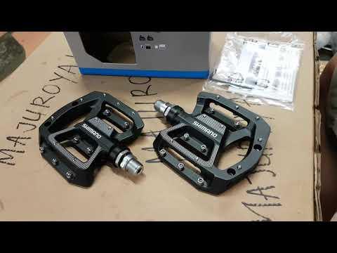 Shimano Pédales PD-GR500 MTB Plat Pédales Noir