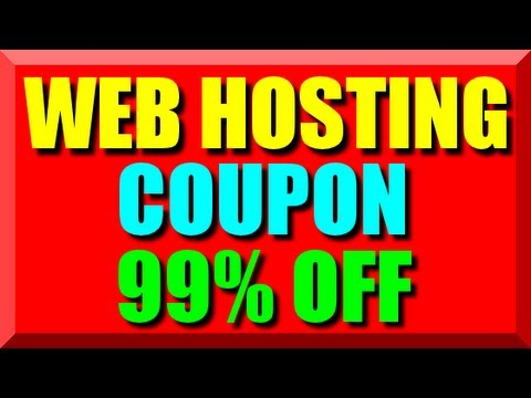 Web Hosting Coupon Code 2018 - Best Cheap Website Hosting Coupon Host Unlimited Domain Names