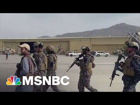 Thousands Trying To Flee Afghanistan As Taliban Cements Control Of Country