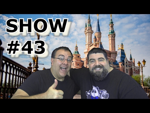 BIG FAT PANDA SHOW #43 with returning Guest Robb Alvey - Theme Park Review - Jan 31, 2017