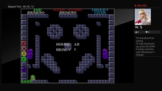 Arcade Archives BUBBLE BOBBLE  (PS4) One Credit Game Sample