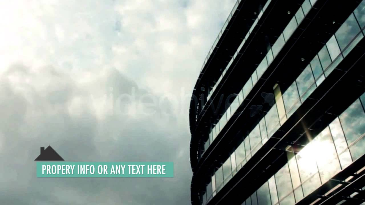 real estate lower thirds template after effects template project
