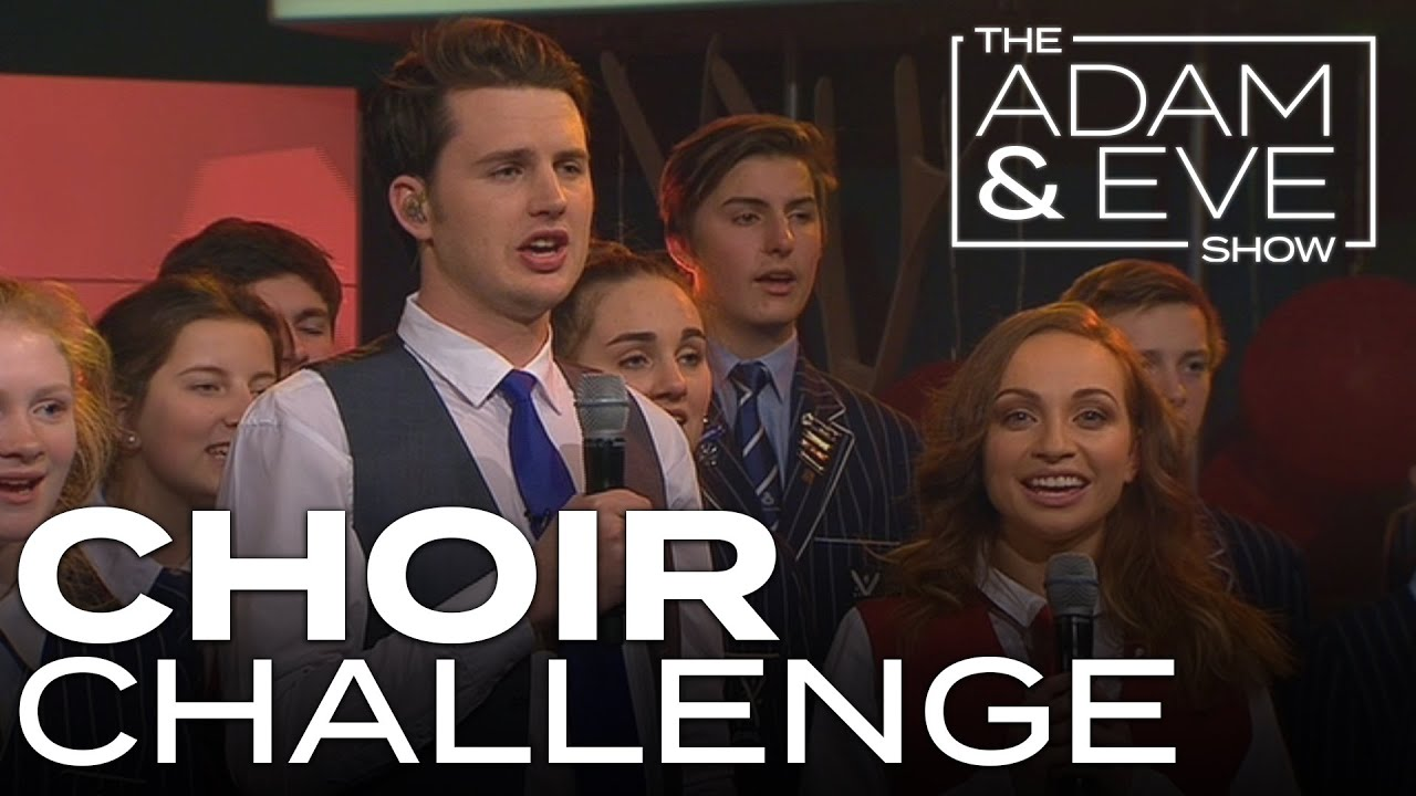 Choir Challenge | Adam vs Eve - Adam & Eve go head to head in a choir singing challenge.