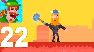 Video Bowmasters - THOR Gameplay Walkthrough Part 22 (iOs, android) download MP3, 3GP, MP4, WEBM, AVI, FLV Maret 2018