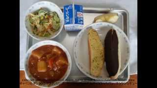 Japanese School Lunches in Tokyo Junior High Schools