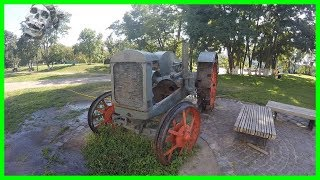 Old Abandoned Farm Equipment. Abandoned Rusty Farm Tractor Exploring. Abandoned Truck Found