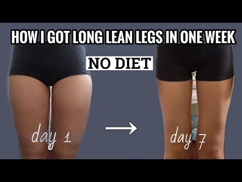 I TRIED EMI WONG SLIM LEG WORKOUTS FOR A WEEK WITH NO DIETHow I got LONG LEAN LEGS in one week!!