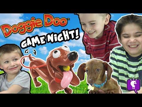 DOGGIE DOO Game Night with HobbyFlappy by HobbyKidsTV