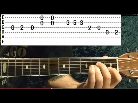 Is There Anybody Out There 🔷PINK FLOYD 🔷 Guitar Lesson - EASY ...