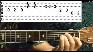 Guitar Lesson - PINK FLOYD - Is There Anybody Out There - With Printable Tabs