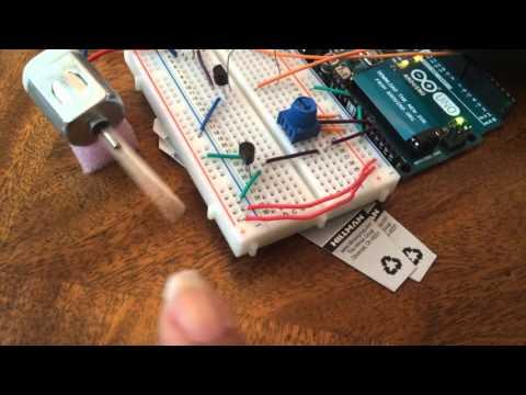 Marshmallow Toaster Arduino Project