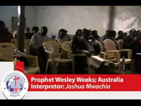 PR WESLEY WICKS - ELIM CHURCH NAIROBI KENYA - AFRICA