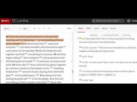 Lumina   Acts 242   Notes