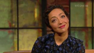 Repeat youtube video Ruth Negga on being mocked in the UK for her soft Irish 'T' | The Late Late Show | RTÉ One