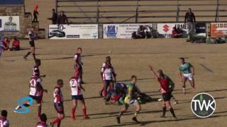 School Rugby Action - 1st Ligbron vs Secunda 24-06-17