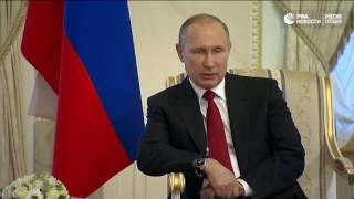 Путин о пострадавших во время взрывов в Петербурге