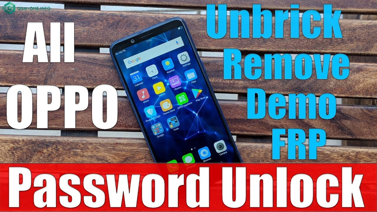 Oppo, Realme All | Remove Demo, Unbrick, FPP Lock, Pattern Lock, Pin Lock,  Password Lock by GSM Fix