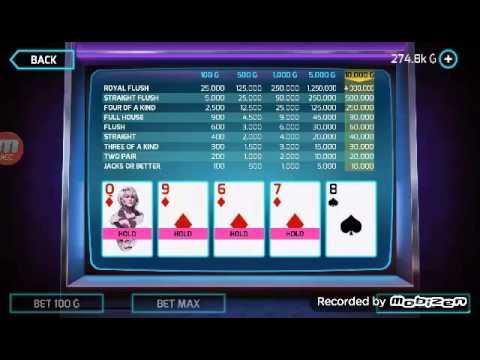How to play video poker in gangstar vegas