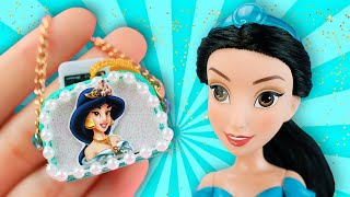 10 DIY Miniature BARBIE HACKS | Disney Princess Makeup, Backpack, Shampoo, Eyeshadow