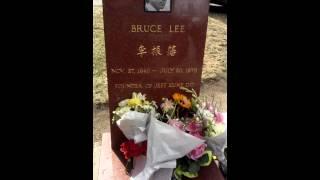 Bruce & Brandon Lee burials in Seattle