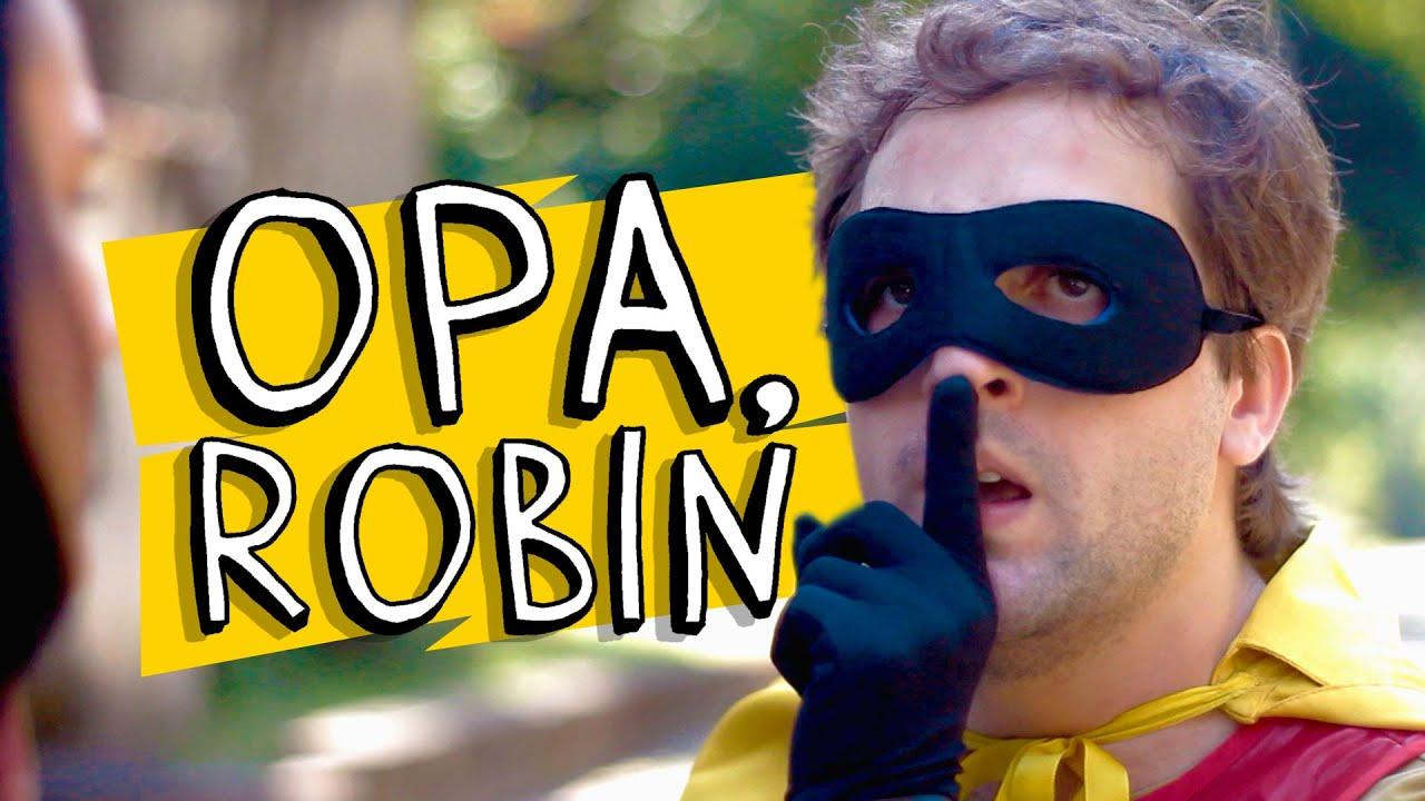 #TBT DO PORTA - OPA, ROBIN