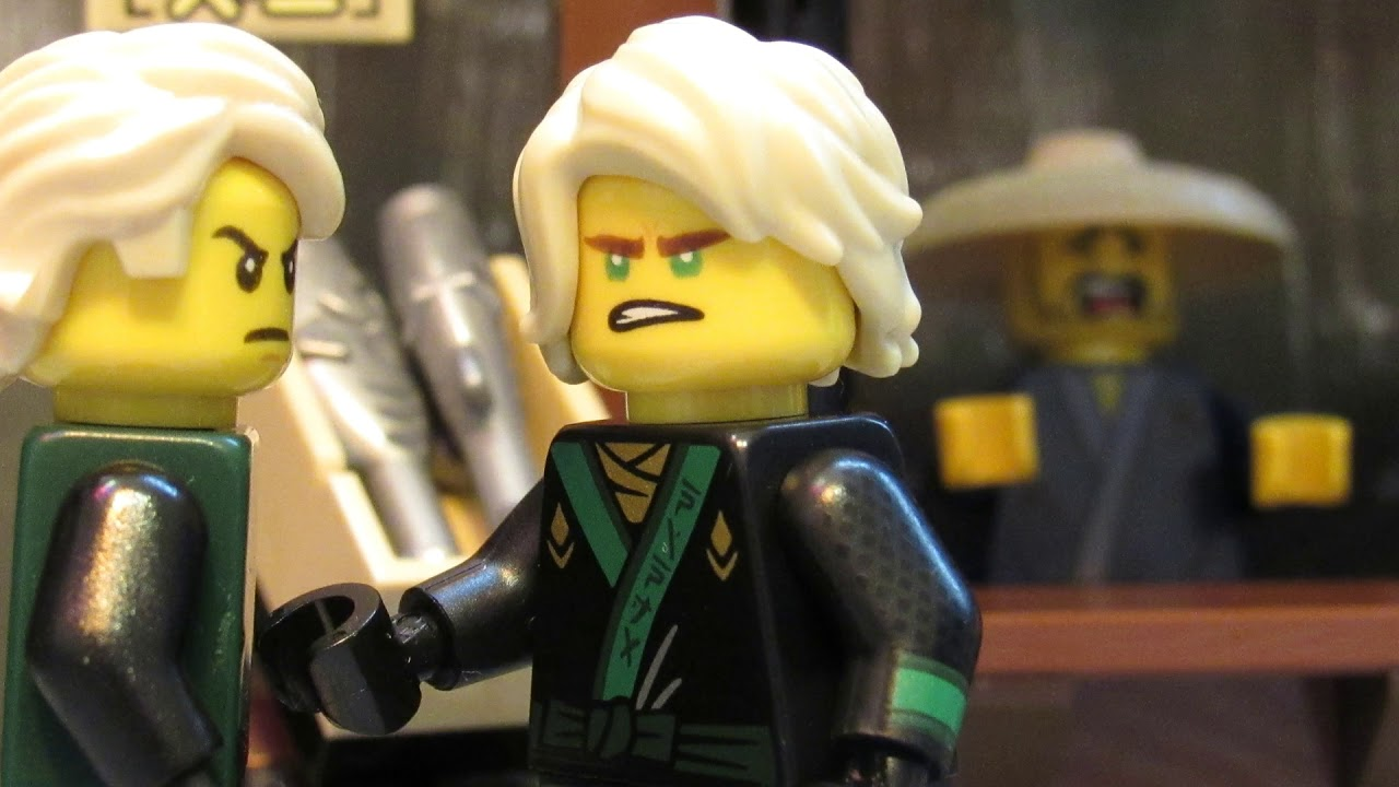 Lego ninjago movie lloyd vs original ninjago lloyd youtube - Ninjago vs ninjago ...